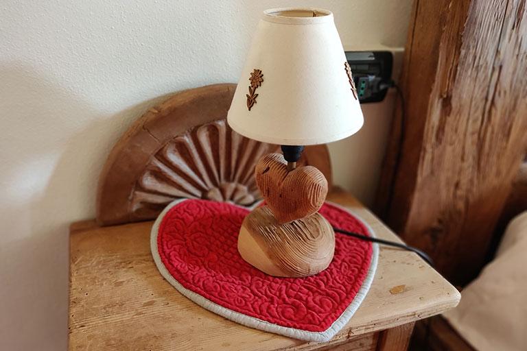 Detail neue Lampe Platz cerva