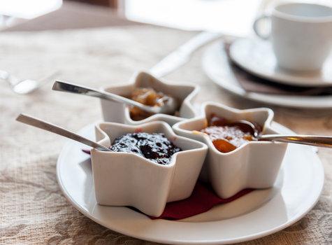 Frühstück-Saucen